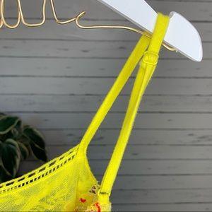Free People Tops - Free People Heartbeat Rochelle Yellow Tank